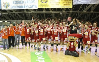 Sorozatban nyolcadszor bajnok a Veszprém