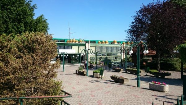 Balatonfűzfőn az uszoda a Balaton északkeleti részének legnagyobb ilyen létesítménye. Fotó: vk