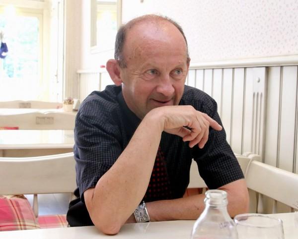 Bakonyi József sokak szerint a város egyik legismertebb mestere. Fotó: vk
