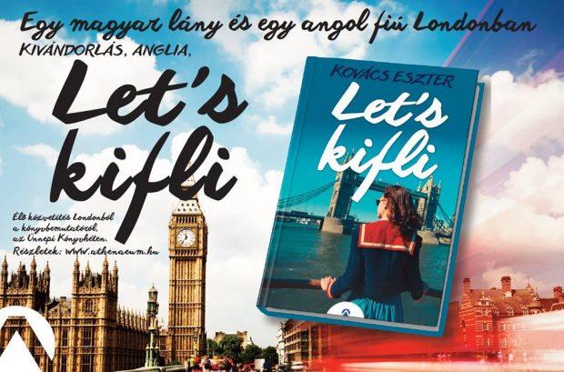 A Let's kifli borítója. Eszter könyvével indul a sorozat