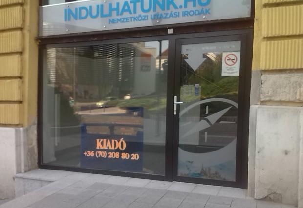 nyr Kossuth utca üres  boltok 17