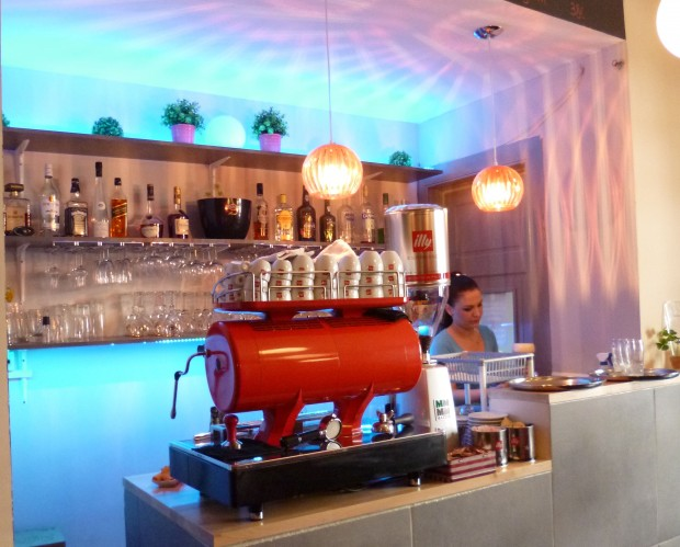 A híres-nevezetes Illy kávéfőző gép
