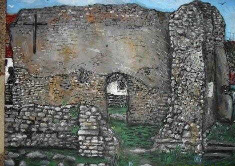 """""""Ezt a Margit-romos képet a városnak festettem, nem kellett nekik. A város nem nyitott, illetve velem szemben nem az"""""""