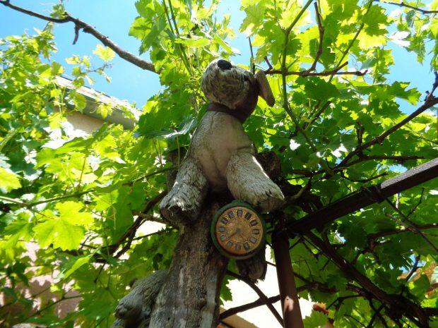 """""""A plüssállatokat azért tettük a fa tetejére, mert a madarak szétszedik, lekopasztják, a szőreiket elhordják fészeknek"""""""