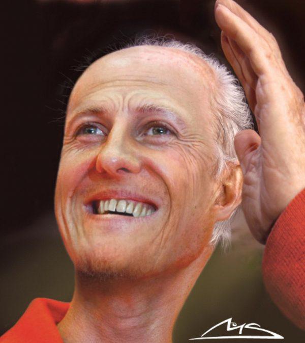Schumacher karikatíra