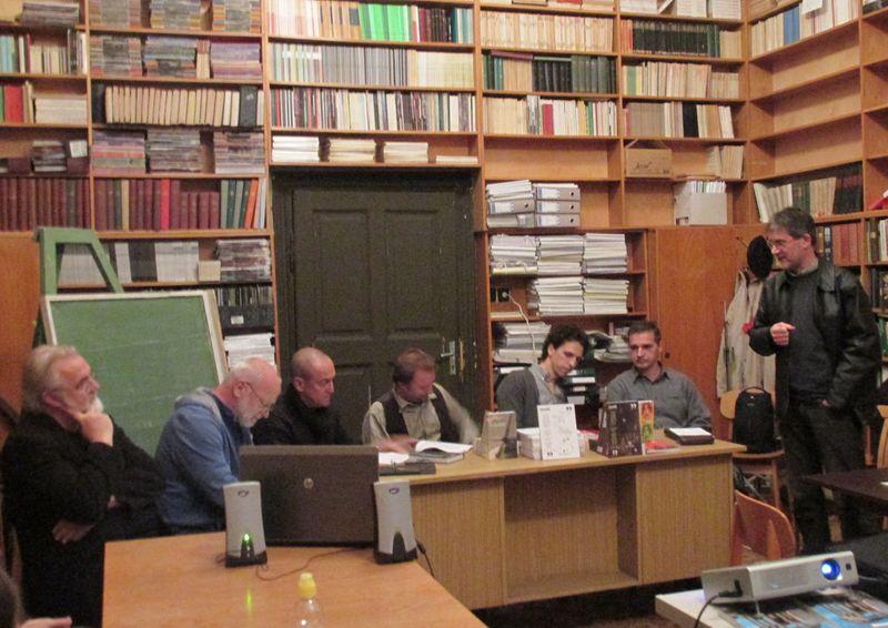 Balról jobbra Fenyvesi Ottó, Géczi János, Szilasi László, Orcsik Roland, Tóth Ákos, Annus Gábor és Ladányi István