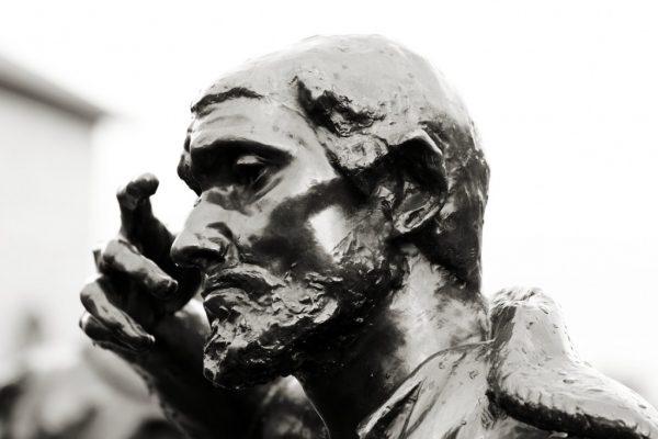 Rodin: Calais-i polgárok (részlet)