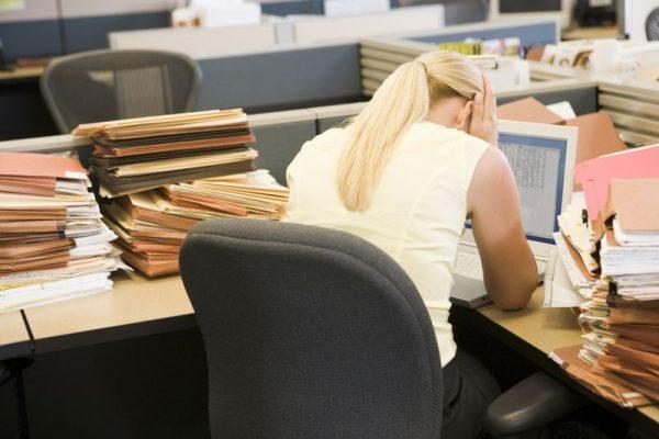 Az egyik legnagyobb stresszforrás a munka, a teljesíthetetlen célkitűzések, a teljesíthetetlen terhelések. (A kép illusztráció)