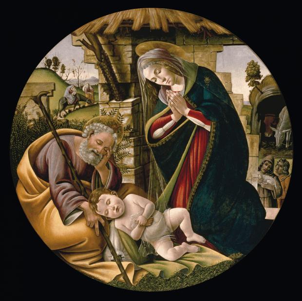 Sandro Botticelli: A kisded imádása
