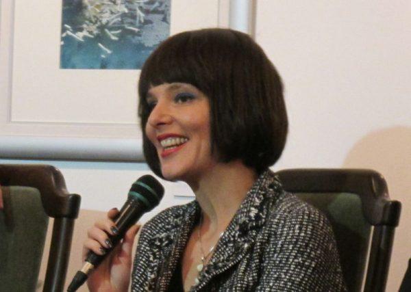 A költőnő a Veszprémi Művész Céh adventi műsorának volt az exkluzív vendége Paloznakon. Fotók: a szerző