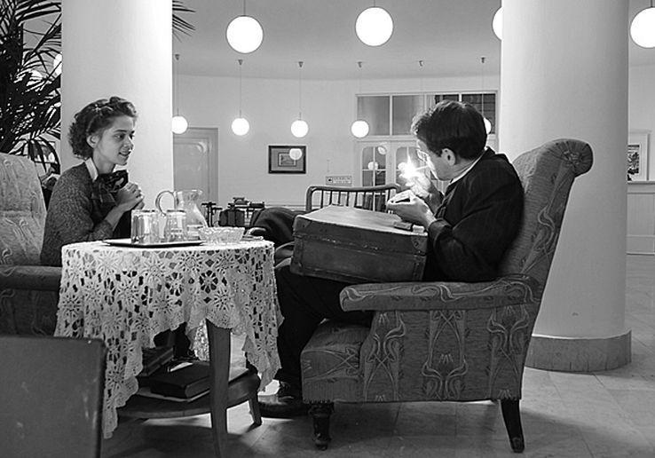 A Hajnali láz című film főszereplői, Piti Emőke és Schruff Milán. Fotó: Horgas Péter