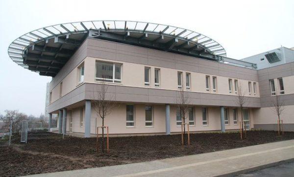 Az új onkológiai centrum megkapja a héten a működési engedélyt. Fotó: Nagy Lajos