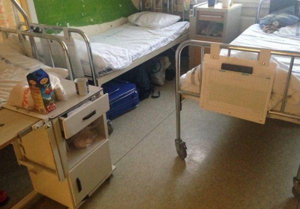 A képek magyarországi kórházakban készültek, és a közösségi oldalakon osztották meg őket