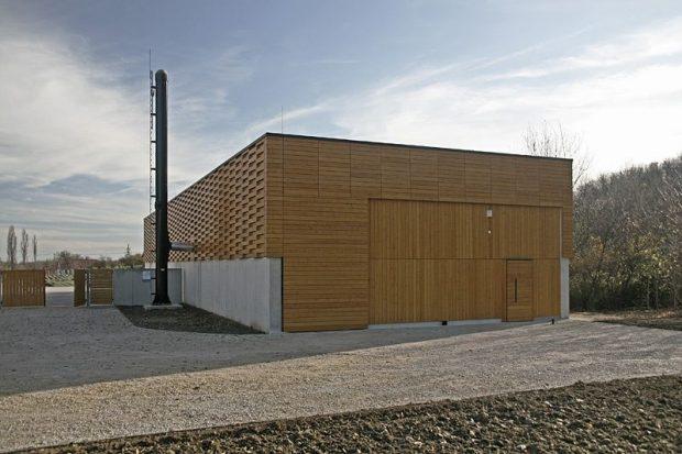 Biomassza-fűtőmű Pannonhalmán