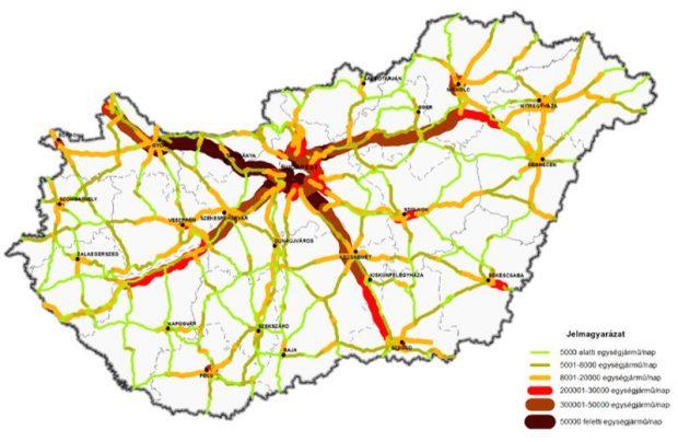 Az elkerülő a napi közel 20 ezres átlagos gépjárműforgalmával az ország legveszélyesebb útjainak egyike