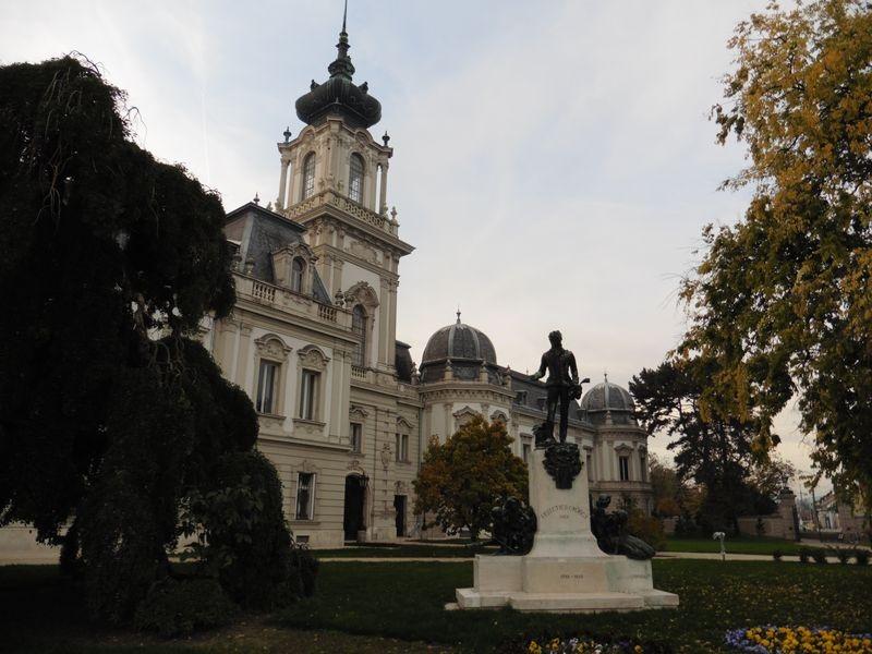 A Helikoni Ünnepségek megnyitóit a keszthelyi Festetics-kastély előkertjében tartják. Fotó: re