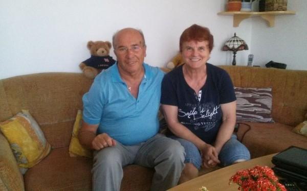 Hidasi Ferenc és Marosné Bedőcs Katalin. Fotó: a szerző