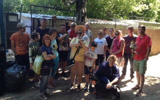 KABÓCA – Önkéntes munkán a társulat