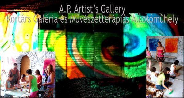 Nemcsak a Művészetek Völgye összművészeti, de a kapolcsi A.P.Artist's Galéria is