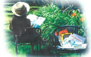 KÖNYVTÁR – Olvasókert a szökőkútnál