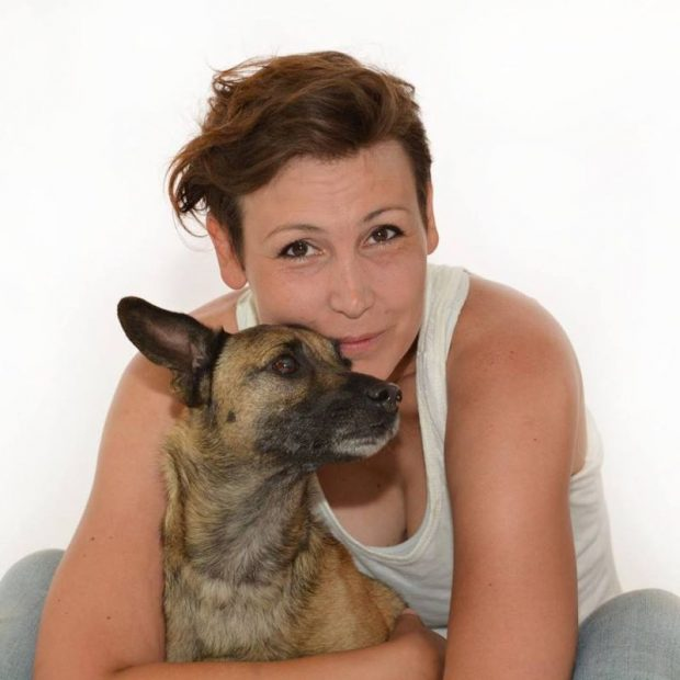Bara Ivetta kutyatréner, habilitációs kutyakiképző