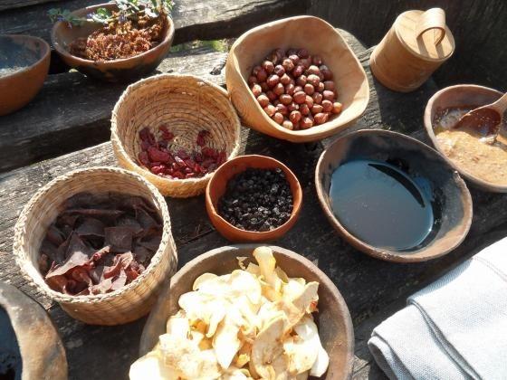 Eleink ételei. Fotó: Laczkó Dezső Múzeum