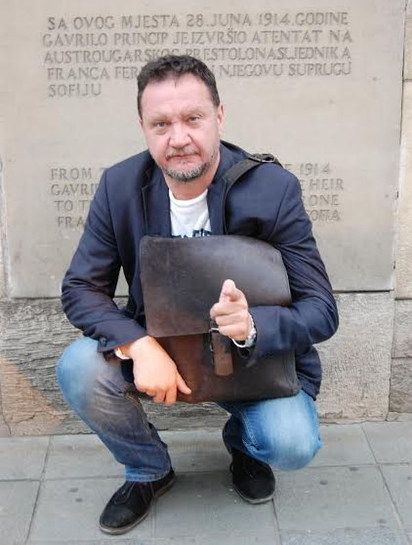 Balázs Attila Szarajevóban