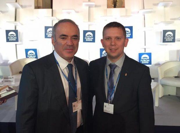 Garri Kaszparov és Kész Zoltán