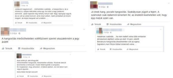 Néhány vélemény az azóta megszüntetett Facebook-oldalról