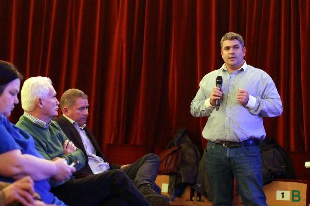 Sarkady Attila, a működtető Észak-balatoni Hulladékgazdálkodási Kft. ügyvezető igazgatója válaszolt a kérdésekre