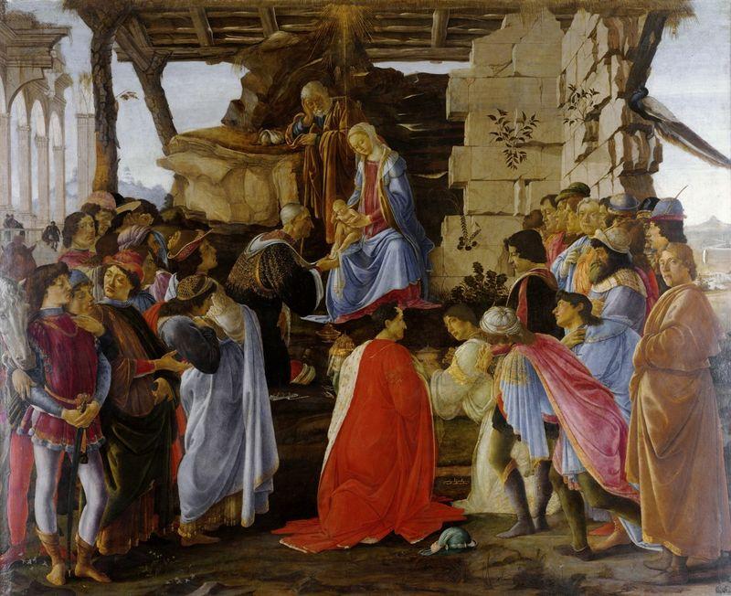 Sandro Botticelli: Háromkirályok imádása