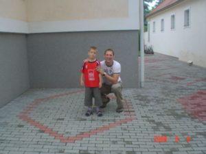 Andris fiam Iváncsik Gergővel az emlékezetes szülinapon