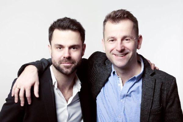 Grecsó Zoltán és Grecsó Krisztián. Fotó: juranyihaz.hu/Dömölky Dániel