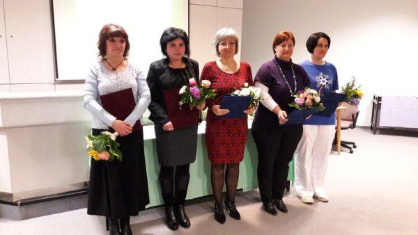 A Kossuth Zsuzsanna-díjjal kitüntetett ápolók. Fotók: a szerző