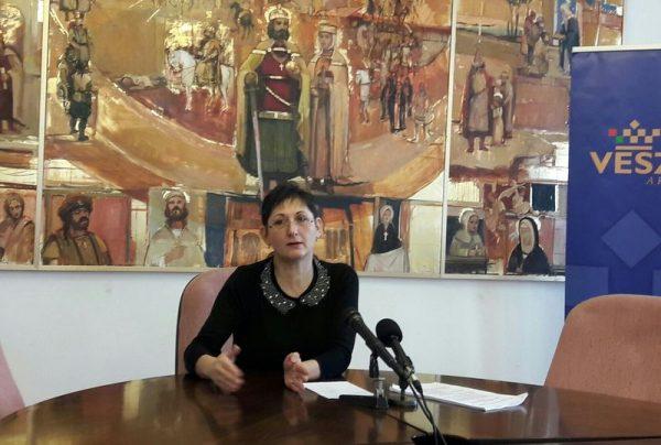 Brányi Mária alpolgármester. Fotó: a szerző