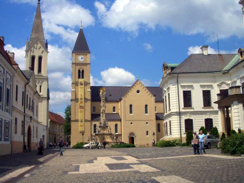 A várról is sok érdekes információt hallhatnak a sétálók. Fotó: idegenvezetok-veszprem.org