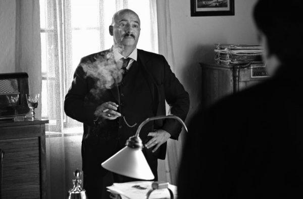 Rudolf Péter tíz kilót hízott a szerep kedvéért, és hatalmasat alakít a filmben. Fotó: Szilágyi Lenke