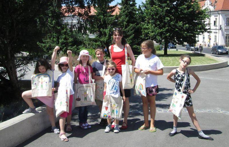 Gombrich mester művészeti táborának résztvevői tavaly is jól érezték magukat