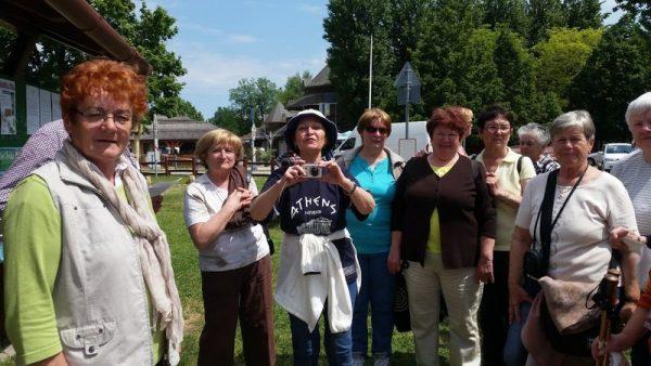 A tavalyi túra résztvevőinek egy csoportja. Fotók: Balaton Riviéra Turisztikai Egyesület