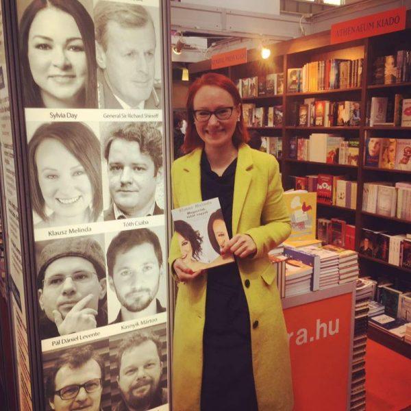 Klausz Melinda új könyvét pár napja bemutatták a Budapesti Nemzetközi Könyvfesztiválon is. Fotó: facebook.com