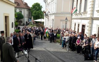 EMLÉKTÁBLA-AVATÁS – Derűs lelkű, hűséges katona volt