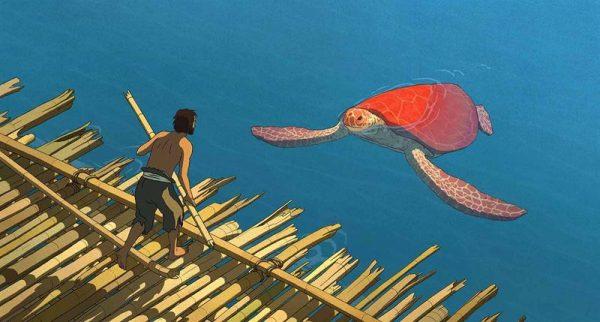 A vörös teknős tavaly a Cannes-i Nemzetközi Filmfesztivál Un Certain Regard szekciójában különdíjat nyert, idén pedig Oscar-díjra jelölték a legjobb animációs film kategóriában