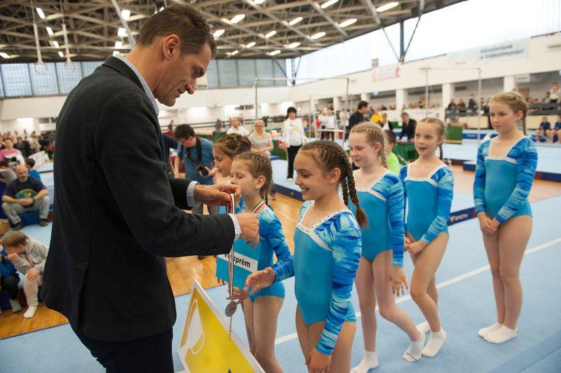 A II.korcsoport 2. helyét a Hriszto Botev általános iskola diákjai szerezték meg