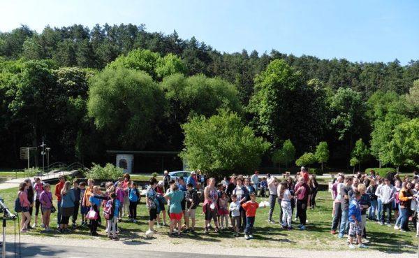 Több száz általános és középiskolást mozgatott meg a VVHHFE rendezvénye. Fotók: a szerző