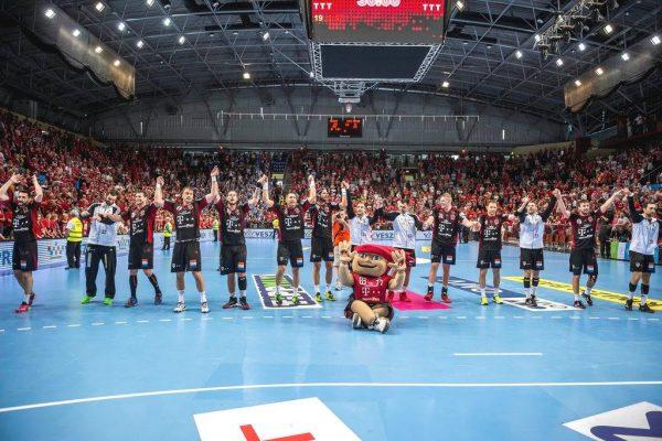 A magyar férfi kézilabda-bajnokság győztese ismét a veszprémi Építők (Fotó: MTI)
