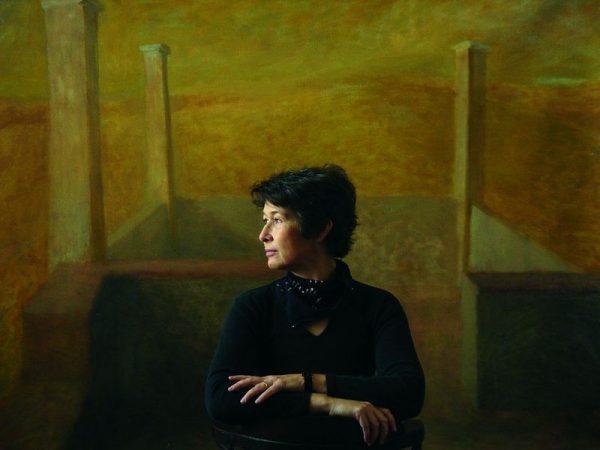 Vojnich Erzsébet Reneszánsz című festménye. Kép: Művészetek Háza