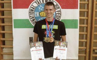 TAEKWONDO – Pintér Norbert aranyat nyert az Európa Kupán