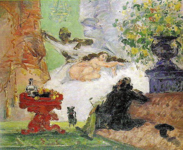 Cezanne: A modern Olympia
