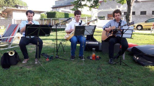 A képen balról jobbra Szalóky Balázs, Hegedüs Csaba és Gálffy Gergely. Fotó: a szerző