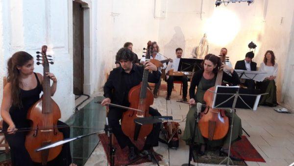 Nagy Réka, Szászvárosi Sándor és Kallai Nóra, a viola da gamba mesterei. Fotók: a szerző